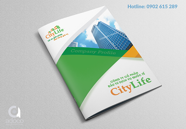Thiết kế profile công ty CityLife